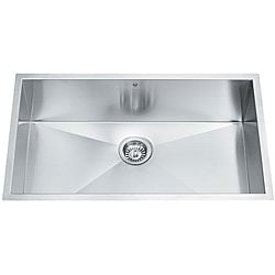 VIGO 32-inch Undermount Stainless Steel 16 Gauge Single Bowl Kitchen Sink
