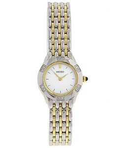 Seiko Women's Two-tone Diamond Dress Watch