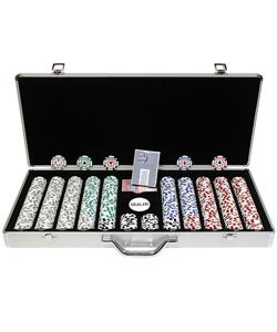 High Roller 650-piece Poker Chip Set