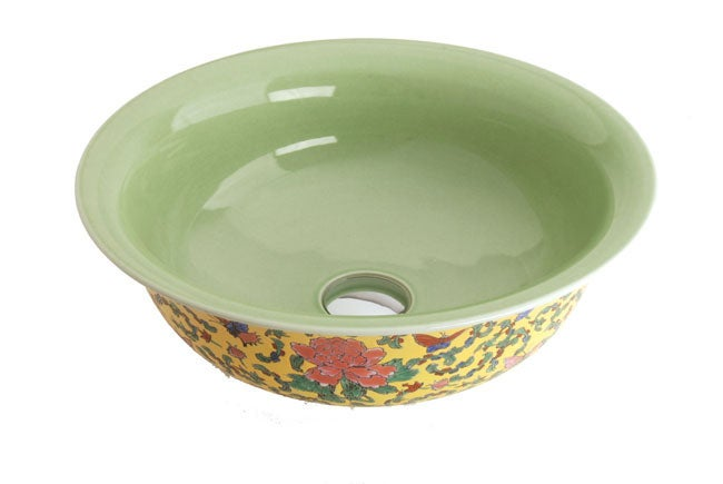 Fontaine Chinese Dynasty I Porcelain Vessel Sink