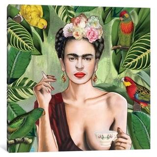 iCanvas ''Frida Con Amigos'' by Nettsch