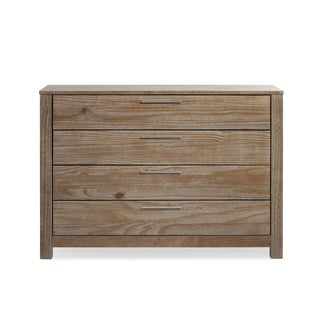 Grain Wood Furniture LOFT 4 drawer Dresser Solid Wood
