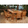 Eucalyptus 9-piece Patio Dining Set
