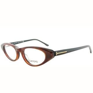 Tom Ford Cat-Eye FT 5120 056 Women Havana on Black Frame Eyeglasses