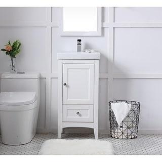 18 in. single bathroom vanity set