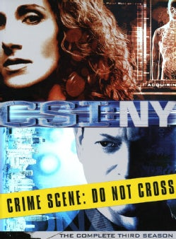 CSI: NY: The Complete Third Season (DVD)