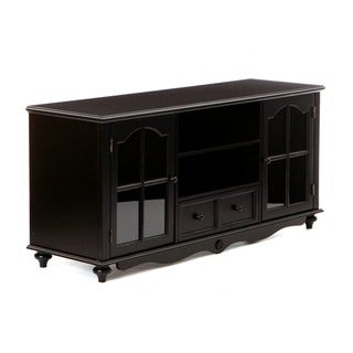 Hanover Black Entertainment Center Cabinet