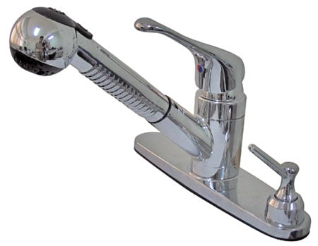 Chrome Pull-out Kitchen Faucet