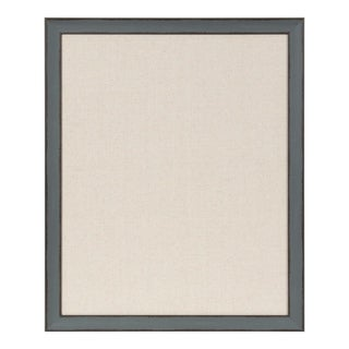 Kate and Laurel Kenwick Framed Fabric Pinboard - 27x33