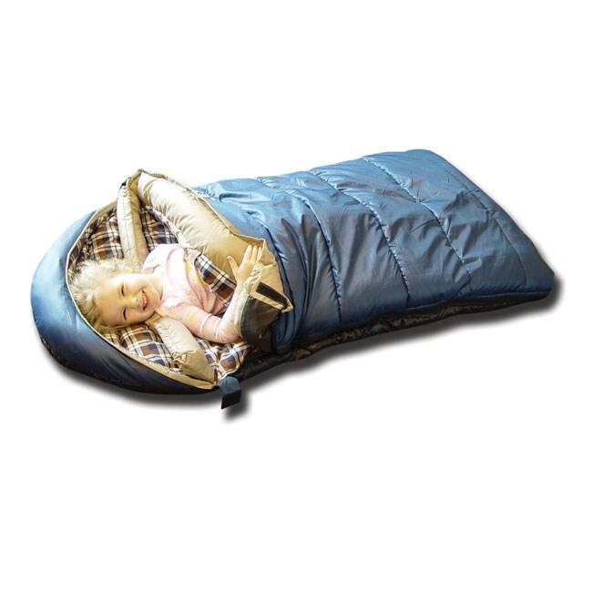 Black Pine Kids Sleeping Bag Grizzly