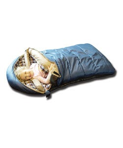 Black Pine Kids Sleeping Bag Grizzly