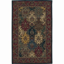 Nourison Hand-tufted Multi-colored Wool Rug (2'6 x 4')