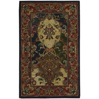 Nourison Hand-tufted Multicolor Wool Rug (3'6 x 5'6)