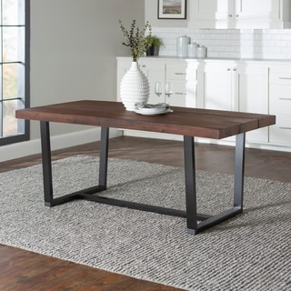 Carbon Loft Barnett Solid Wood Dining Table