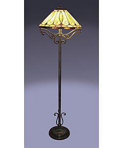 Tiffany-style Arroyo Floor Lamp
