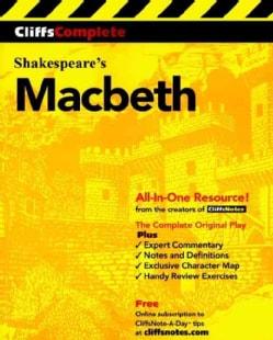 Cliffscomplete Macbeth (Paperback)