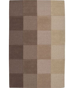 Nourison Hand-tufted Taupe Wool Rug (2'6 x 4')