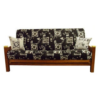Blazing Needles Tapestry Full-sized Futon Cover Set