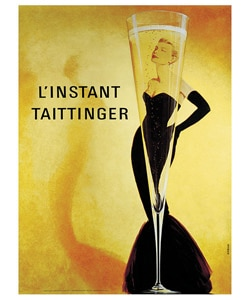 Taittinger Extra Large Canvas Wall Art