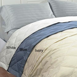 Famous Maker Oversize Twin-size White Down Blanket
