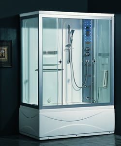 Ariel 905 Steam Shower with Whirlpool Tub