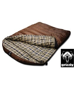 Grizzly 2-person +25-degree Rip-Stop Sleeping Bag