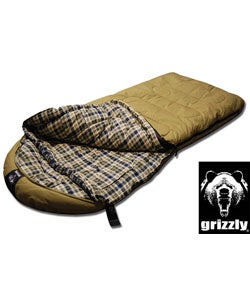 Grizzly +0 Degree Canvas Sleeping Bag with Hyperloft Insulation