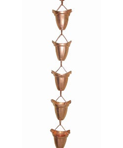 Bellcup Copper Rainchain
