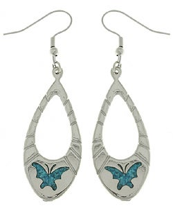 CGC Turquoise Butterfly Dangle Earrings