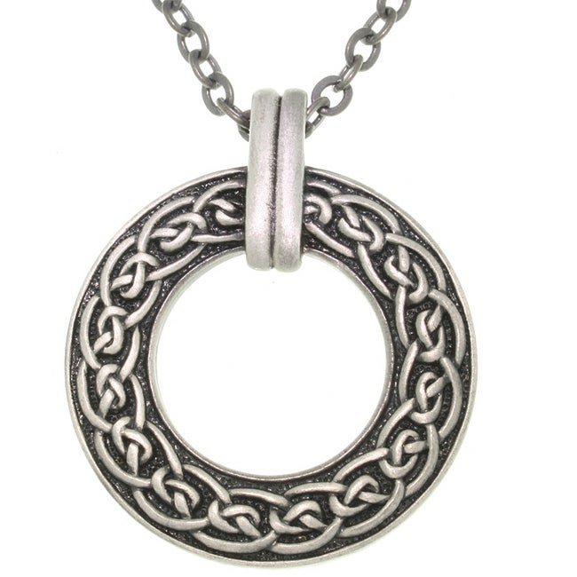 CGC Celtic Ring Pewter Unisex Necklace
