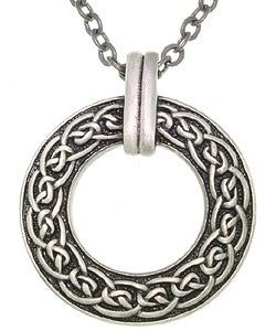 CGC Celtic Ring Pewter Unisex Necklace