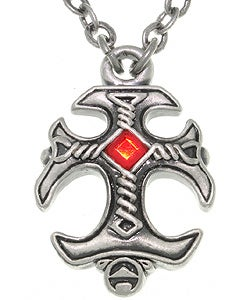 CGC Gothic Cross Pewter Unisex Necklace