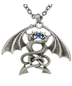 CGC Double Dragons Pewter Unisex Necklace