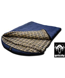 Grizzly 2-person -25-degree Canvas Sleeping Bag