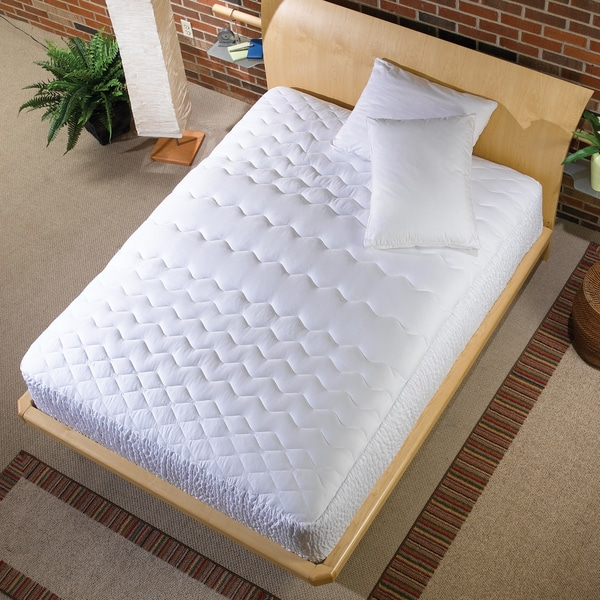Simmons 5-zone 500 Thread Count Mattress Pad (As Is Item)