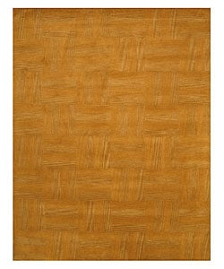 Hand-tufted Tile Wool Rug (5' x 8')