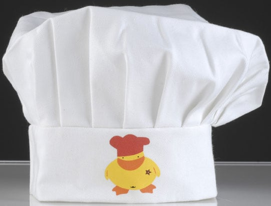 Sheriff Duck Children's Chef Hat
