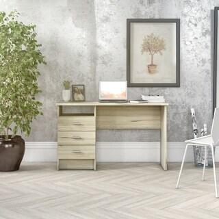 Porch & Den Skylar 3-drawer Desk with Cord Management