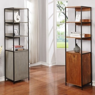 Furniture of America Soby Contemporary 3-shelf Storage Bookshelf