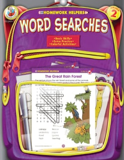 Homework Helper Word Searches, Grade 2 (Paperback)