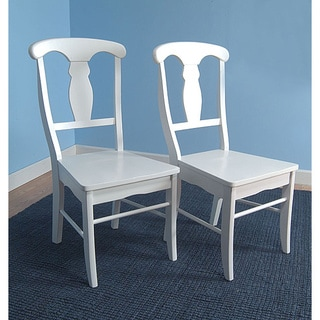 Solid Wood Empire Dining Chairs (Set of 2)
