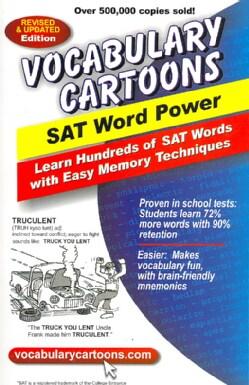 Vocabulary Cartoons: SAT Word Power (Paperback)