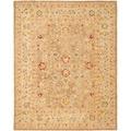 Safavieh Handmade Ancestry Tan/ Ivory Wool Rug (9' x 12')