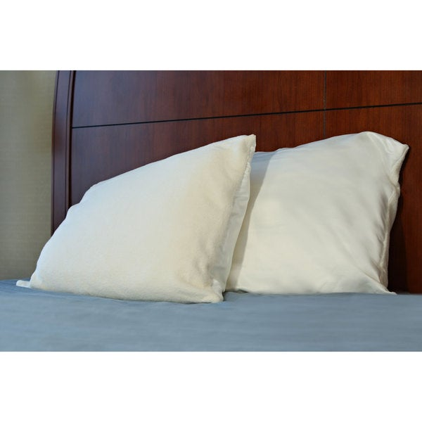 Warm/ Cool Soft Memory Foam Standard Size Bed Pillow