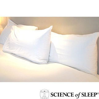 Science of Sleep Allergy Free Standard-size Pillow Protector (Set of 2)