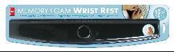 Black Lycra/Memory Foam Standard Keyboard Adjustable Wrist Rest