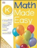 Math Made Easy: Kindergarten (Paperback)