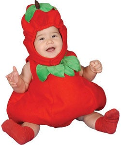 Apple Baby Costume