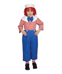 Deluxe Rag Boy Children's Costume Set