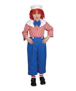 Deluxe Rag Boy Children's Costume Set